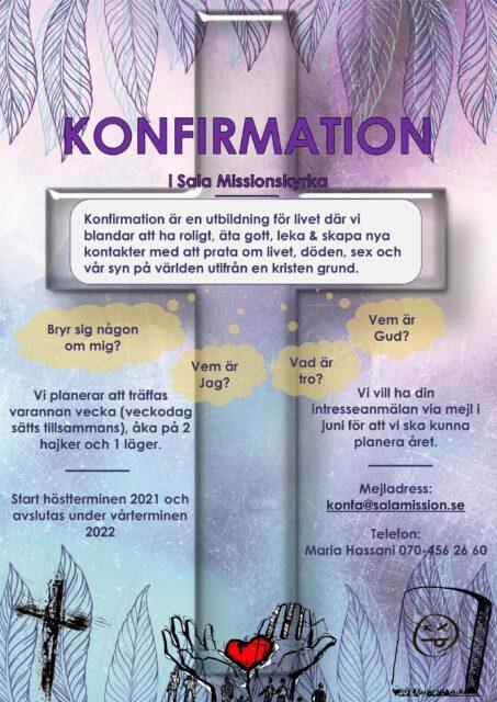 Onsdag den 2 juni – Konfa-information!